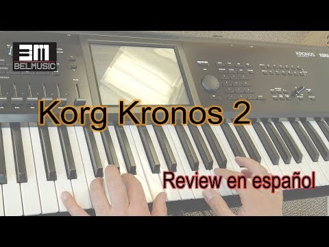 Sintetizador Korg Kronos 2 reseña en español