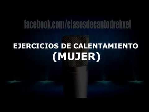 EJERCICIOS DE CALENTAMIENTO 10 MIN. (MUJER) 1era. parte