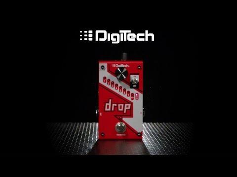 DigiTech Drop Polyphonic Drop Tune Pedal | Gear4music demo
