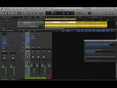 SA - 'Logic Pro X' First Look - 01 Overview