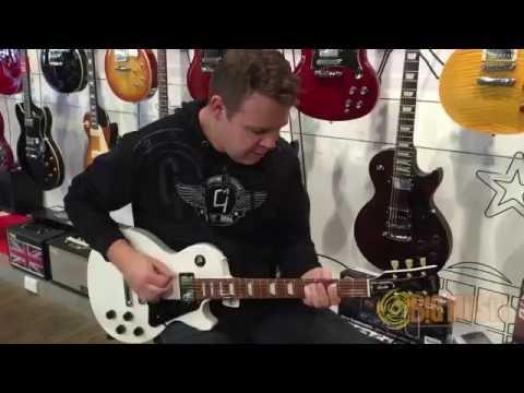 Unboxing Gibson 2016 Les Paul Studio - Alpine White - LPSTUAWCH1