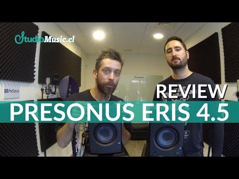 Monitores PreSonus Eris 4.5 - Review (en español) por StudioMusic.cl