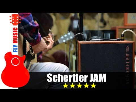 Schertler JAM200 guitars amp review 原声音箱评测