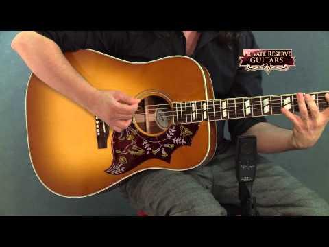Gibson Hummingbird Acoustic-Electric Guitar Heritage Cherry Sunburst Nickel