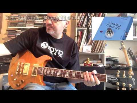 Joyo Chorus Pedal - Roy Fulton