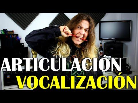 ARTICULACION Y VOCALIZACION + EJERCICIOS | Técnica Vocal | Elisa C.Martin