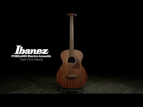 Ibanez PCBE12MH, Open Pore Natural | Gear4music demo