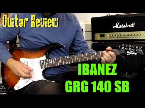 IBANEZ GRG140 SB - Demo Guitar