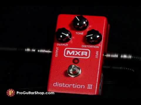 MXR Distortion III Pedal