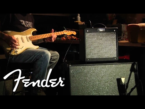 "FENDER® PRO JUNIOR™ III, 212 CAB, & STRAT® | ""Rockin' Blues"" 