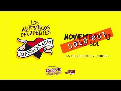 Los Auténticos Decadentes - Foro Sol (17/11/2017)