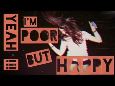 Molly Varlet - POOR BUT HAPPY (Video Lyrics)