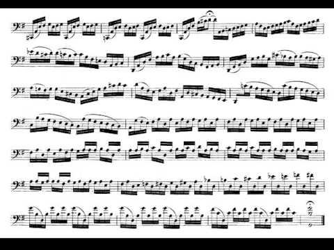 J. S. Bach: Suite nº 1 para Violonchelo en Sol Mayor BWV 1007 I - Preludio. Audición y Partitura