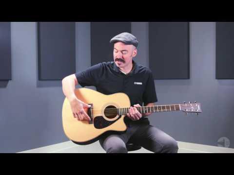 Yamaha FX370C Guitarra Acústica-Eléctrica
