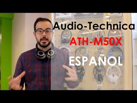Audífonos, Audio Technica ATH M50x Review Español