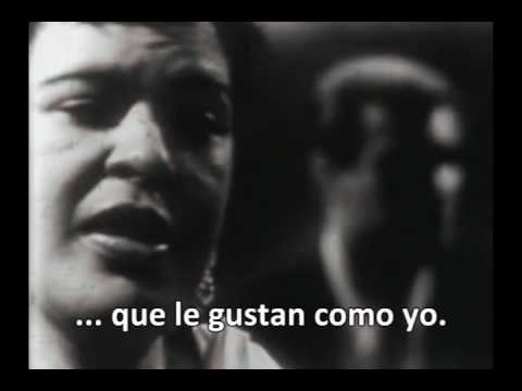 Billie Holiday - My Man - Sub. español