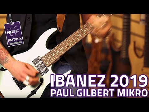 Ibanez 2019 PGMM21 Paul Gilbert miKro Metallic Light Green
