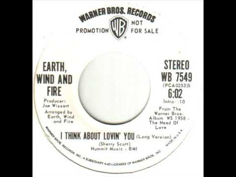 Earth Wind & Fire I Think About Lovin' You