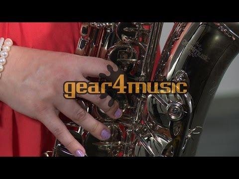 Alto Saxophone, Nickel by Gear4music