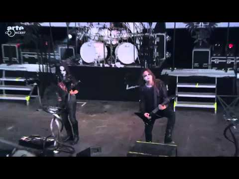 Behemoth Hellfest 2014 Chant for Eschaton 2000