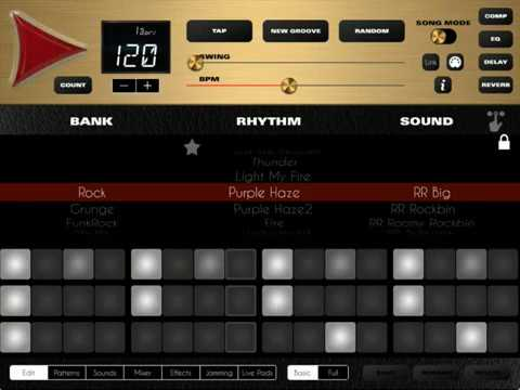 Rock Drum Machine 4 for iOS