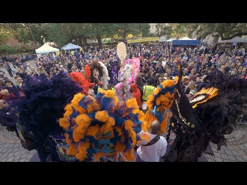 Mardi Gras Indian Battle - Congo Square Rhythms Festival (2019)