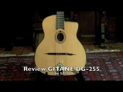 Review of GITANE DG-255 by Saga, Gypsy Jazz Guitar, Selmer copy