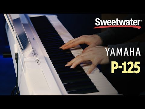 Yamaha P-125 Digital Piano Review