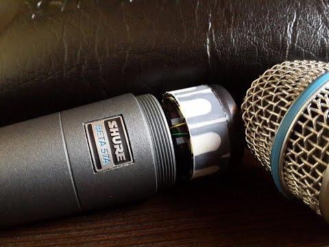 El Shure Beta 57a - Es un micrófono o un sonajero?