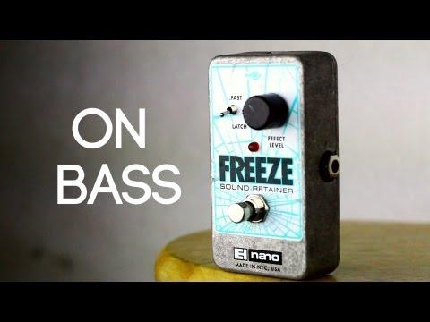 EHX Freeze [Bass Demo]