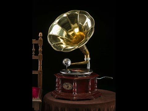 Aubaho GmbH nostalgisches Grammophon Antik-Stil Deko im Auktionshaus Bad Homburg Shop