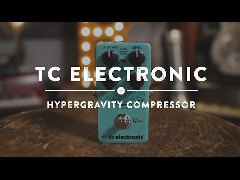 TC Electronic Hypergravity Compressor | Reverb Demo Video