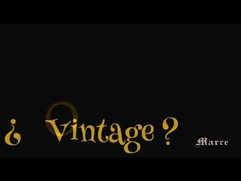 Vintage ó Rebelde. GUITARRAS MARCE