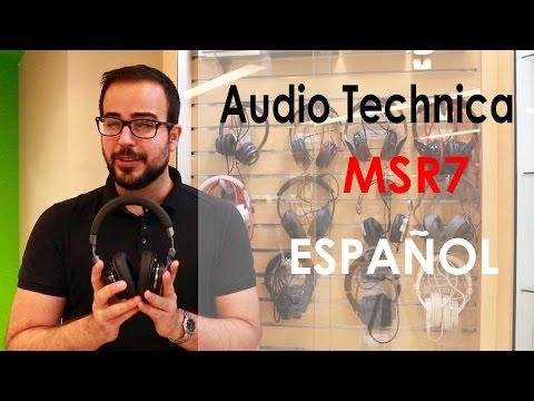 Auriculares, audífonos Audio Technica MSR7, review y análisis en español
