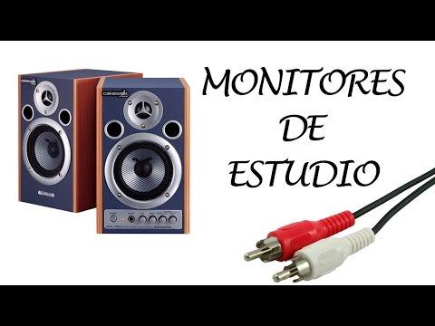 Los mejores monitores de estudio por menos de 200 euros (ESI, Roland, M Audio...)