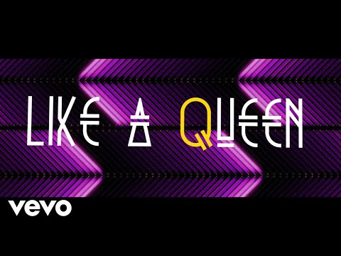 The Morgans - Like a Queen [Official Lyric Video]