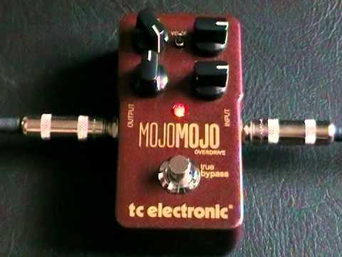 TC Electronic - MojoMojo Overdrive demo (en español)