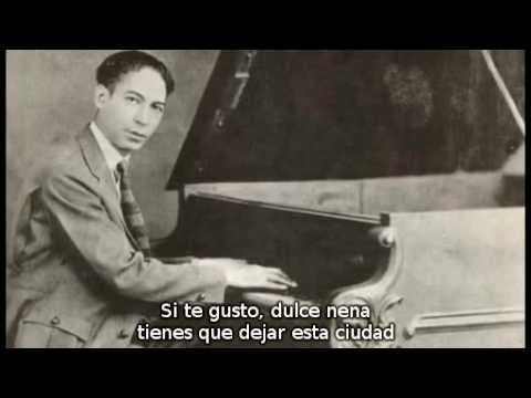 "Jelly Roll Morton ""I'm Alabama Bound"" Library Of Congress Recordings Spanish Subs"