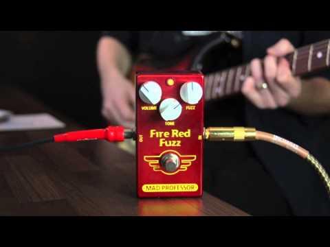 Mad Professor Fire Red Fuzz PCB version demo: Part 1 by Marko Karhu