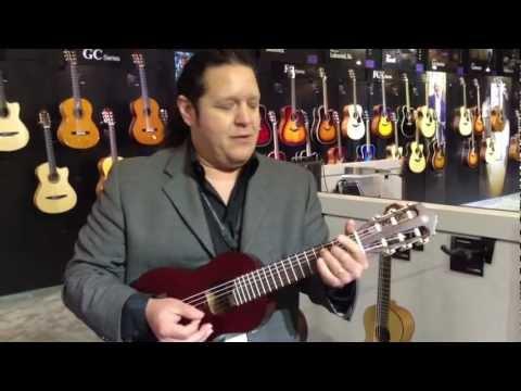 Kraft Music - Yamaha Guitalele GL1 PB Demo at NAMM 2013
