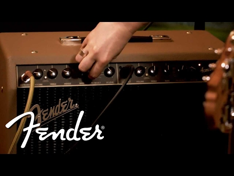 Fender Acoustasonic 90 Demo | Fender