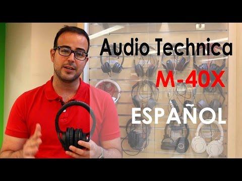 Audífonos Audio Technica, ATH M40X review en español