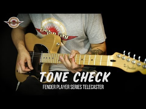 TONE CHECK: Fender Player Series Telecaster Demo | No Talking