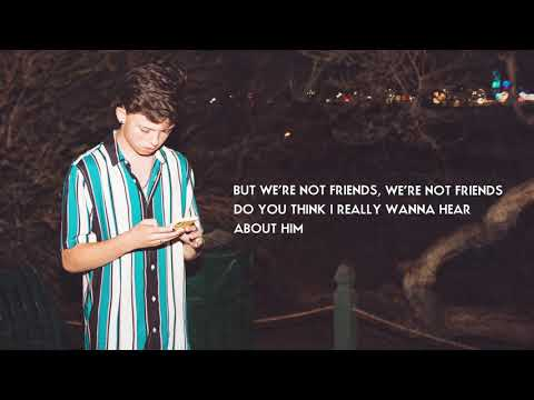 Jacob Sartorius - We're Not Friends (Official Lyric Video)