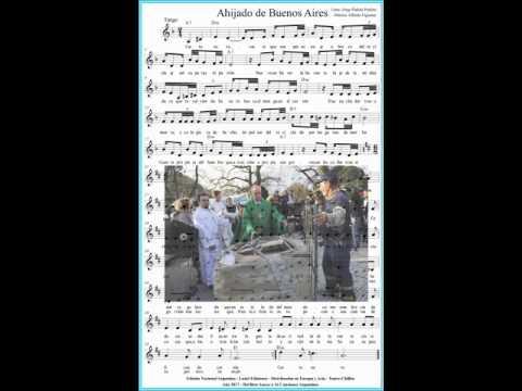 阿根廷樂譜 Ahijado de Buenos Aires Jorge Padula Perkins Alfredo Figueras Partitura Original Argentina