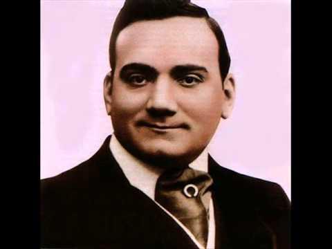 Enrico Caruso - Mattinata (R. Leoncavallo al piano) 1904.wmv