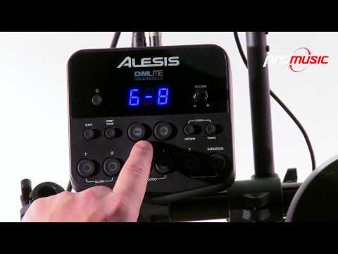 Bateria Electronica Alesis DM lite Kit en español