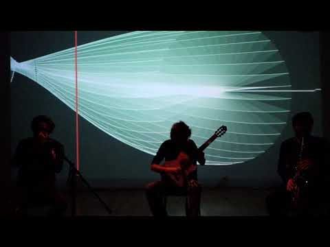 Animated Notation - Open Trio plays SynPhon
