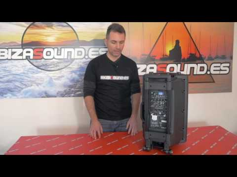 Review PORT12VHF-BT y PORT15VHF-BT de Ibizasound.es
