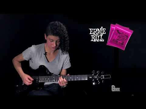 Cuerdas ERNIE BALL SUPER SLINKY con Aletia en GuitarraMX
